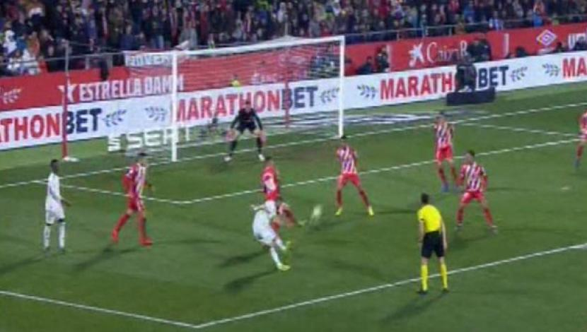 Real Madrid vs. Girona: Benzema and new goal for Vinicius Junior 2-0