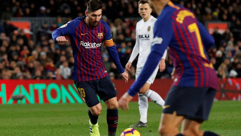 Barcelona vs. Valencia: Messi anotó el 2-2 en el Camp Nou con este descomunal gol