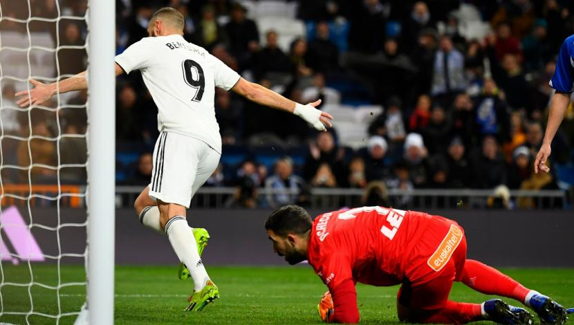 Real Madrid vs. Alavés EN VIVO vía DirecTV Sports: Benzema marcó el 1-0 en el Bernabéu por la Liga | VIDEO. (Foto: AFP)