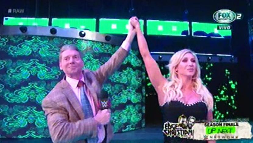 WWE RAW: Vince McMahon anunció a Charlotte Flair como la rival de Ronda Rousey para WrestleMania 35. (Video: FOX Sports 2 / Foto: Captura de pantalla)