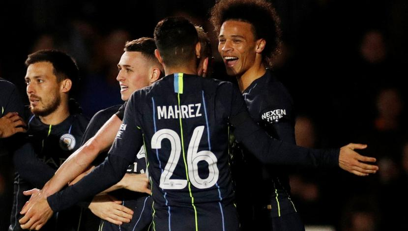 Manchester City ganó 4-1 a Newport County y avanzó a los cuartos de final de la FA Cup | VIDEO. (Video: YouTube/Foto: AFP)