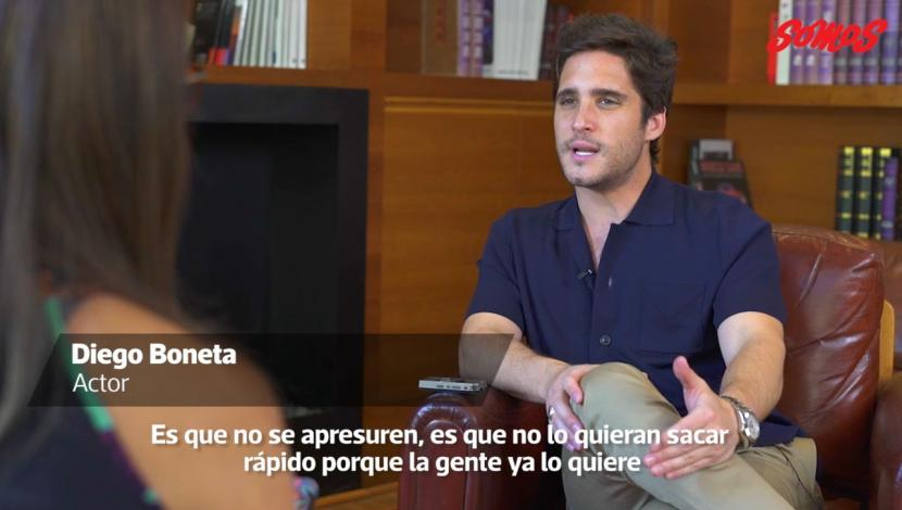 Diego Boneta conversó en exclusiva con Somos. (Foto: Captura de Video)