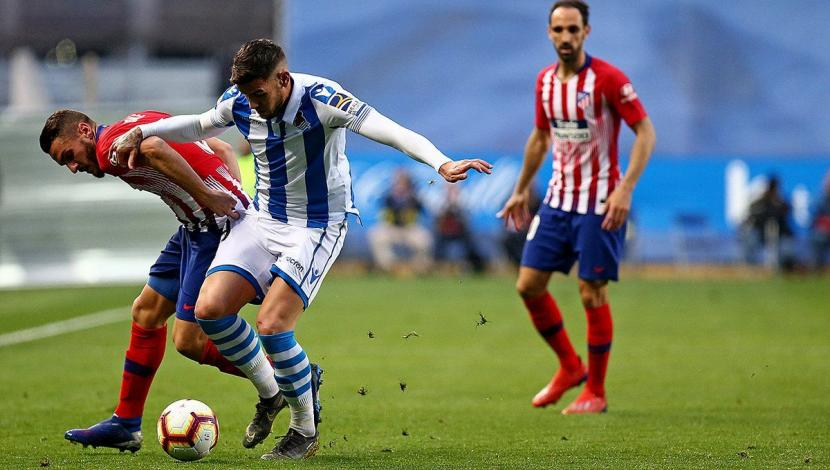 Atlético Madrid ganó 2-0 a Real Sociedad con doblete de Álvaro Morata. (Video: YouTube - Foto: AFP).
