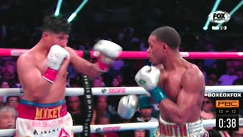 Errol Spence Jr. venció a Mikey García por decisión unánime y retuvo su cinturón wélter FIB | VIDEO. (Video: YouTube/Foto: Captura)