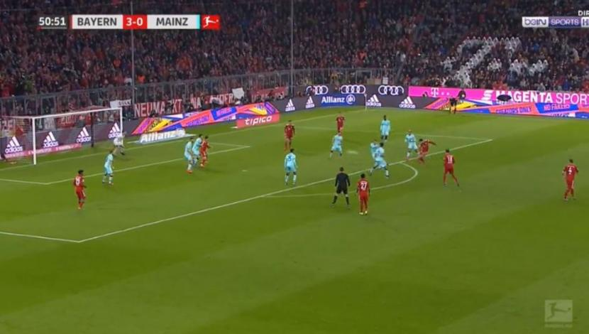Bayern Múnich vs. Mainz: así fue el segundo gol de James Rodríguez. (Video - Foto: YouTube).