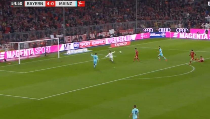 Bayern Múnich vs. Mainz: así fue el tercer gol de James Rodríguez. (Video - Foto: YouTube).
