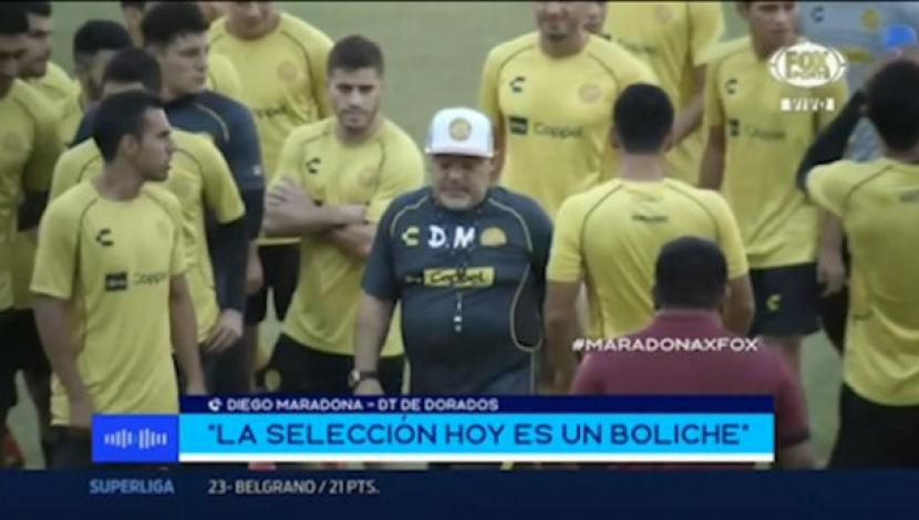 Diego Maradona habló sobre Messi. (Video: YouTube/Foto: Captura de pantalla)