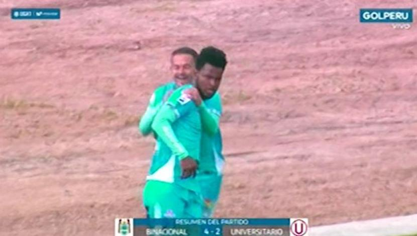 Universitario cayó ante Binacional en Juliaca.(Video. Gol Perú)