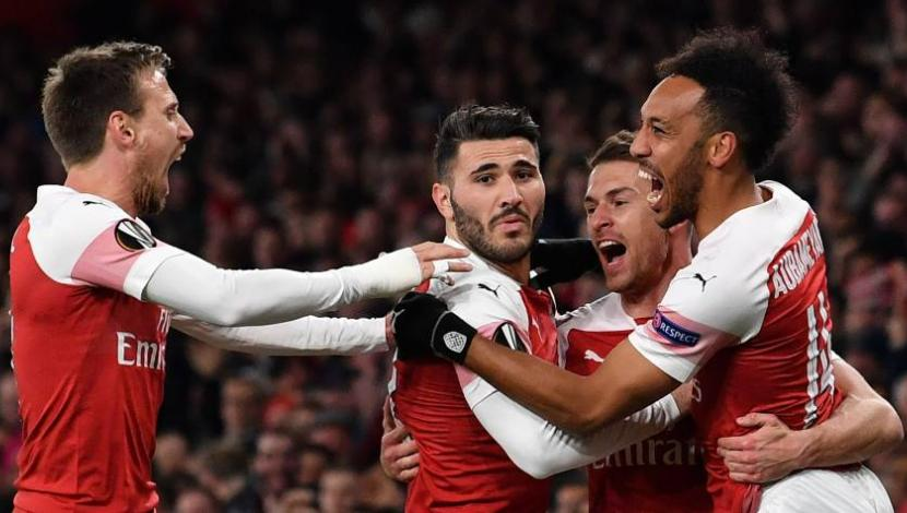 Arsenal vs. Nápoli se miden por los cuartos de final de la Europa League . (Foto: AFP)