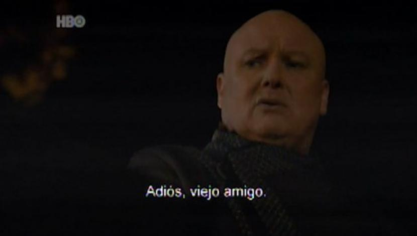 Muerte de Varys en Game of Thrones