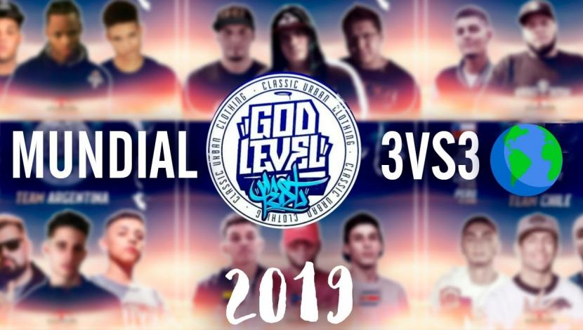 God Level LIVE: Follow the first date in Mexico of the 3vs3 Freestyle World Championship teams. (Video: El Comercio / Photo: Twitter)