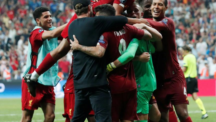 Liverpool beat Chelsea on penalties and remain with the European Super Cup
