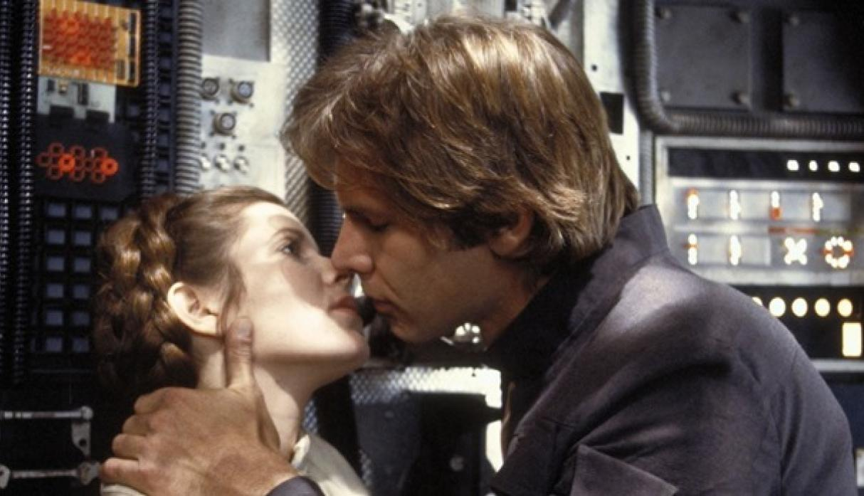 """Star Wars"": Carrie Fisher tuvo un romance con Harrison Ford"