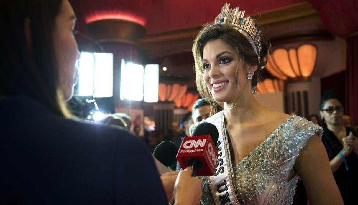Iris Mittenaere, Miss Universo 2016, se lució en el after party - 1