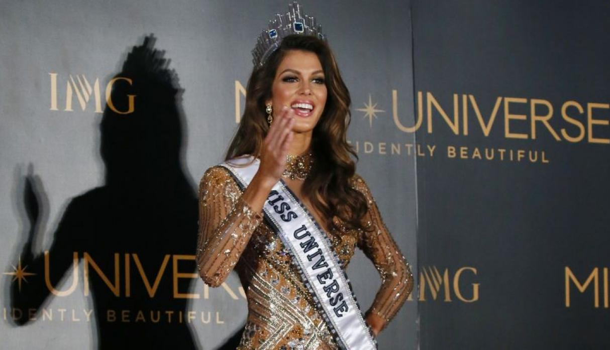 Iris Mittenaere, Miss Universo 2016, se lució en el after party - 6