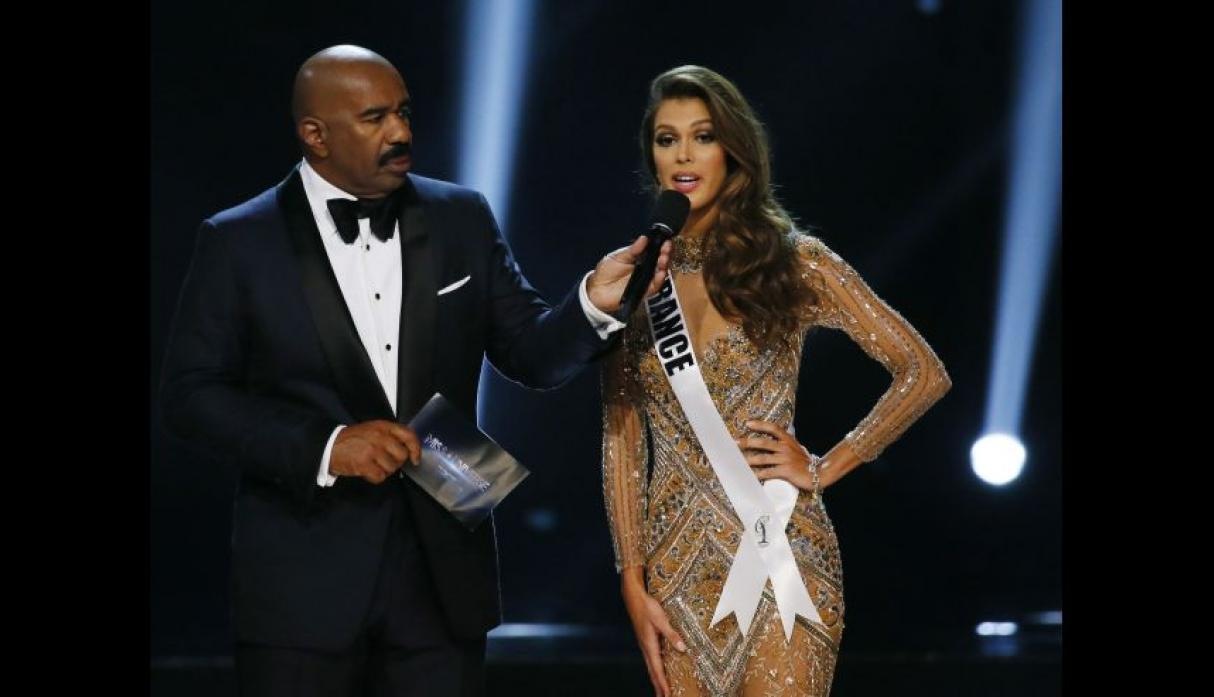 Iris Mittenaere, Miss Universo 2016, se lució en el after party - 11