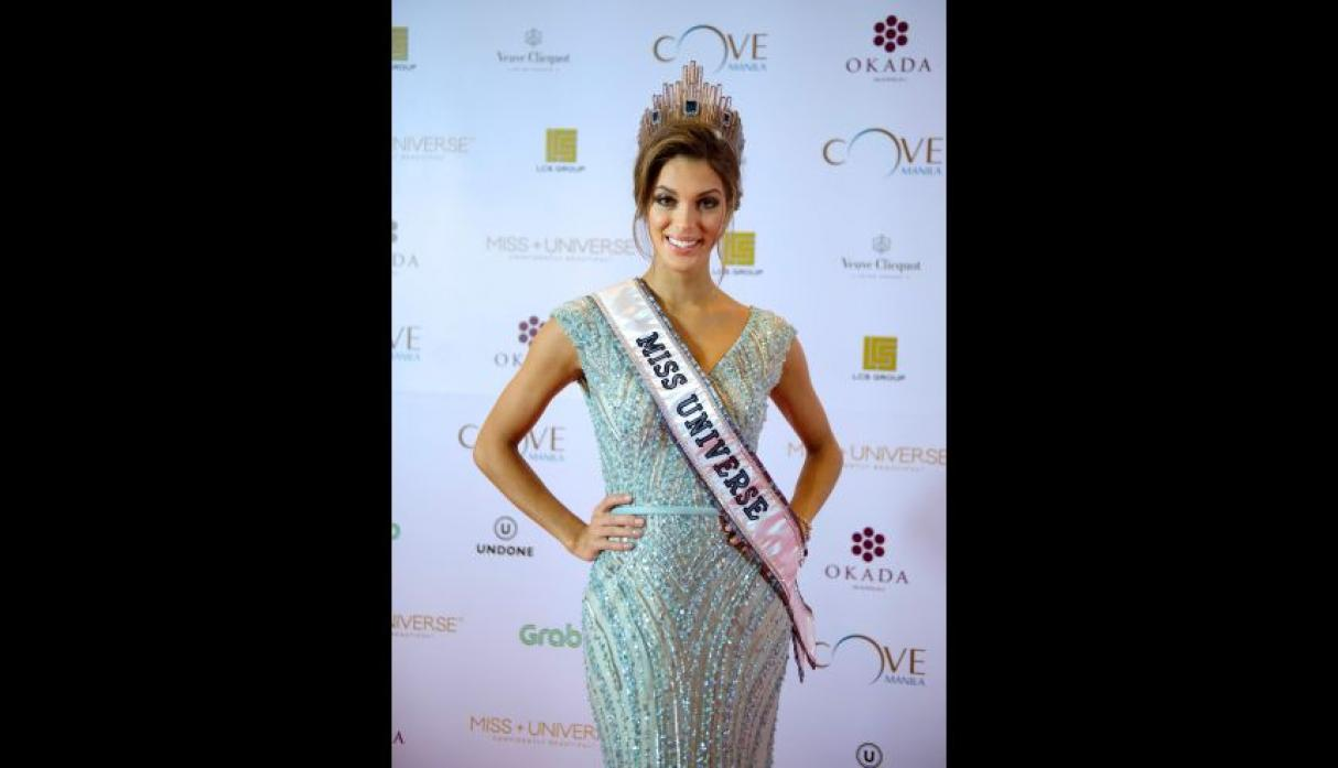 Iris Mittenaere, Miss Universo 2016, se lució en el after party - 16