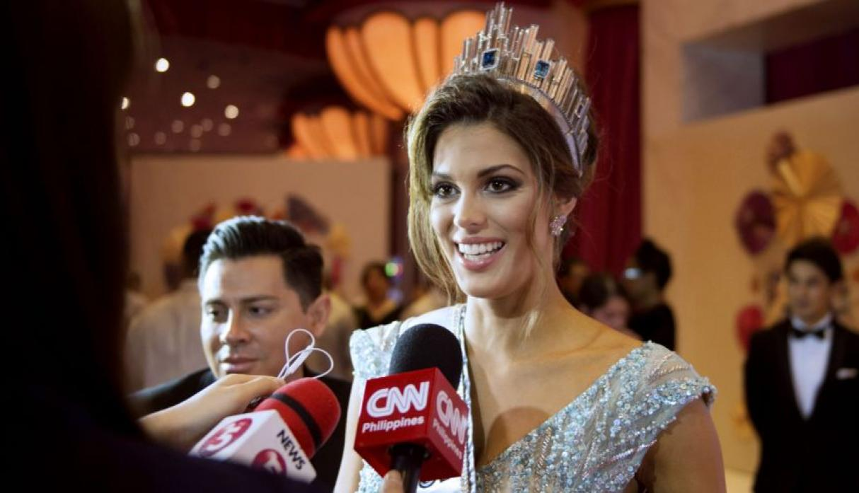 Iris Mittenaere, Miss Universo 2016, se lució en el after party - 20