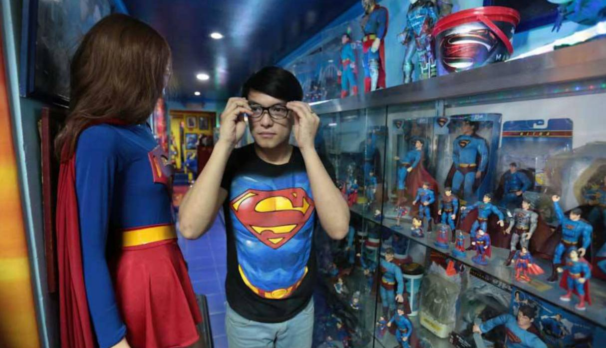 Filipino vive obsesionado con parecerse a Superman [VIDEO] - 1