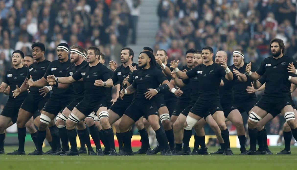 8c7e866ace2 La haka de los 'All Blacks' se hizo leyenda en el rugby [VIDEO ...