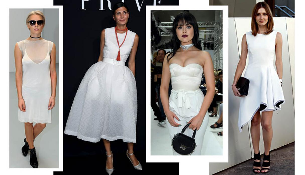 Tendencia All White: las claves para lucirte en blanco total - 1