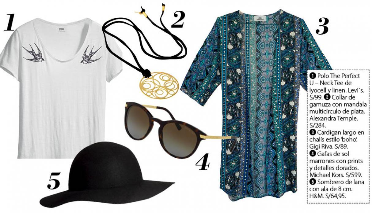 Boho chic: Ideas para llevar este estilo fashion - 3