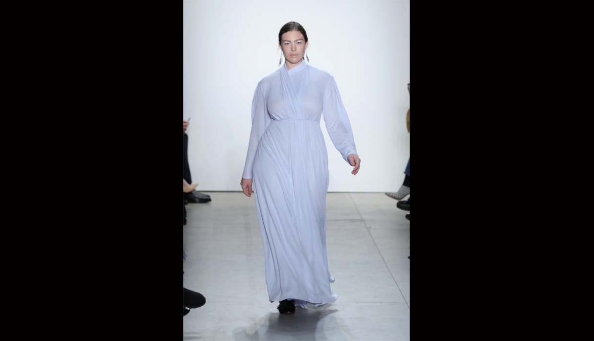 Modelos plus size rompen estereotipos en New York Fashion Week - 10