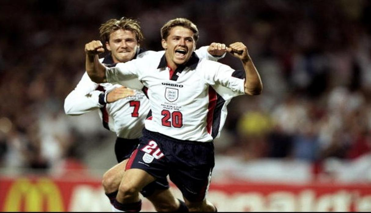 Michael Owen jugó el Mundial sub-20 de 1997. (Foto: Getty Images).