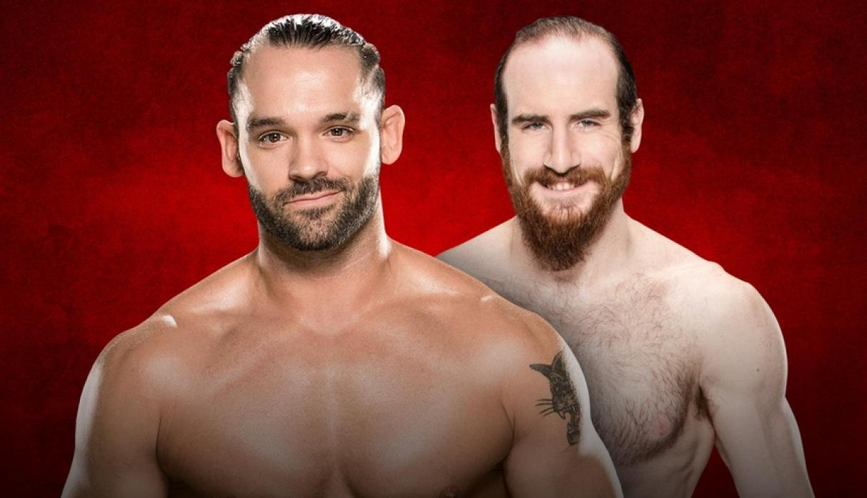 Kick off: Tye Dillinger vs. Aiden English. (Foto: WWE).
