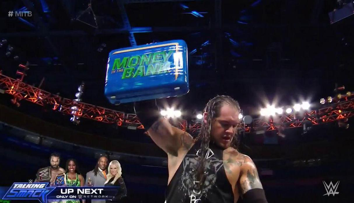 WWE Money in the Bank 2017: Baron Corbin se llevó el maletín [FOTOS]