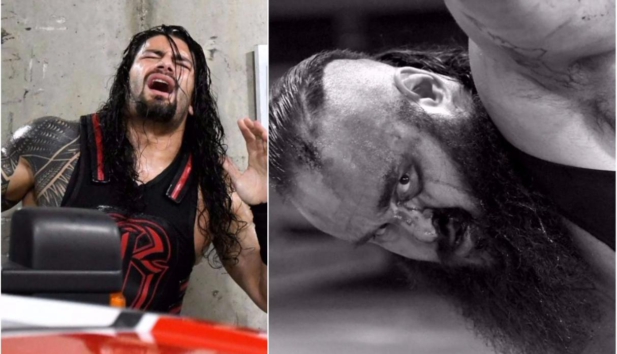 Roman Reigns casi mata a Strowman en accidente automovilístico — WWE
