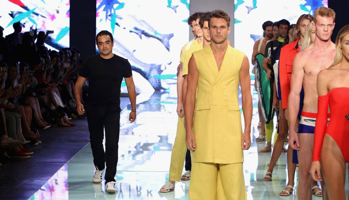 Yirko Sivirich en Miami Fashion Week.