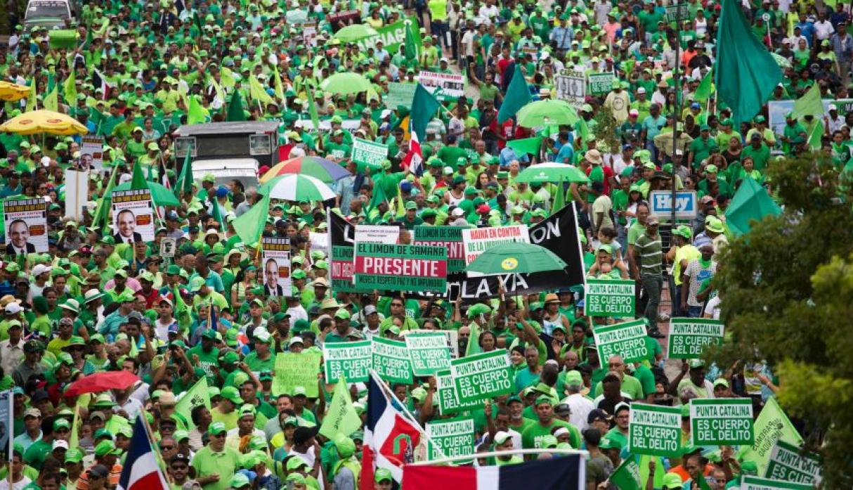 Marcha contra Odebrecht