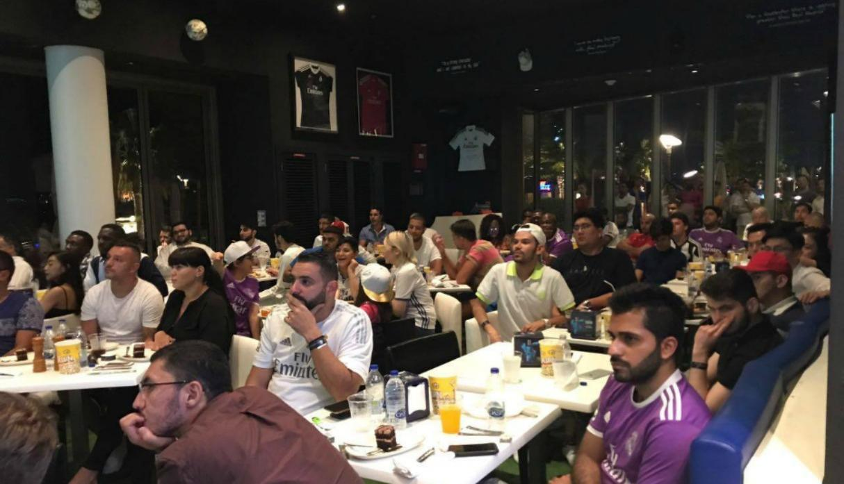 Real Madrid Café, Dubai