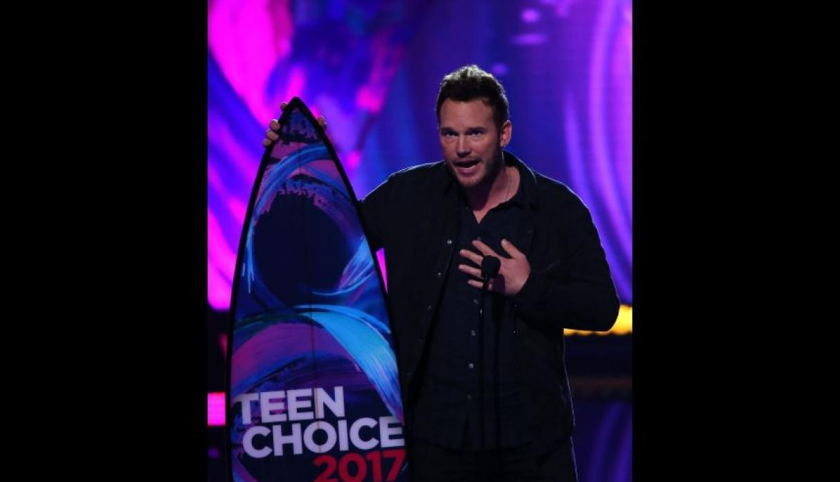 Teen Choice Awards: Chris Pratt reaparece en televisión tras anuncio de divorcio