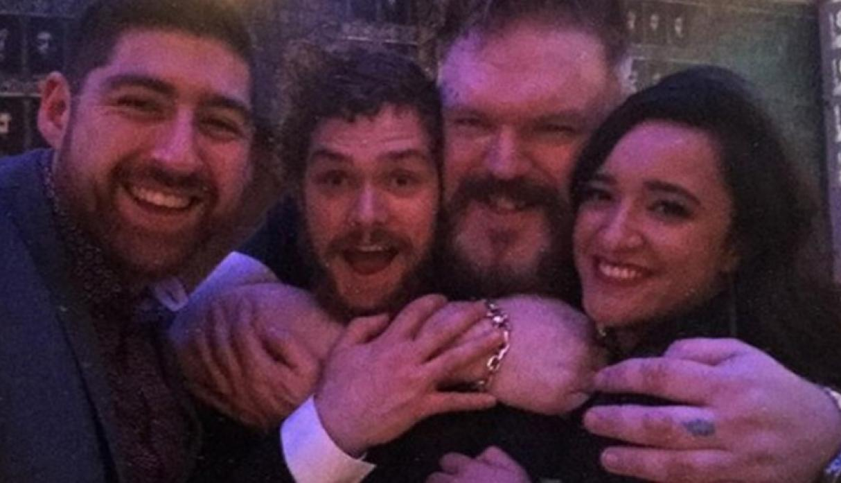 "La vida en el set de los actores de ""Game of Thrones"""