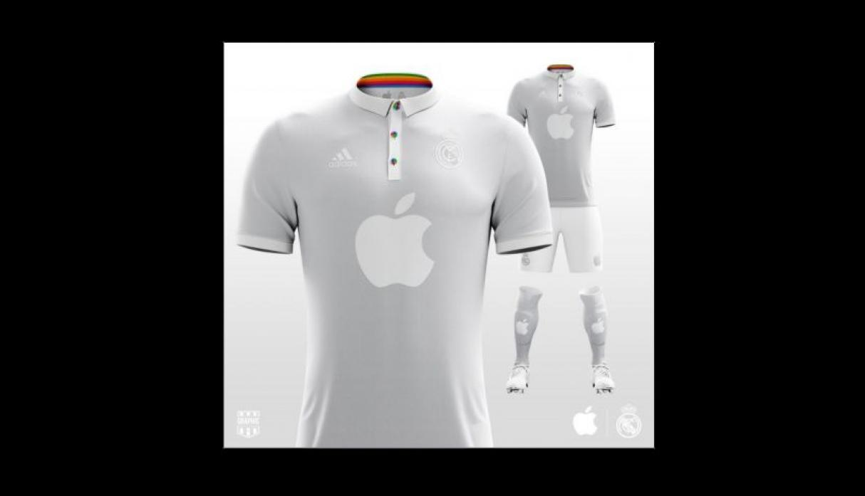 Real Madrid - Apple. (Foto: Graphic UNTD)