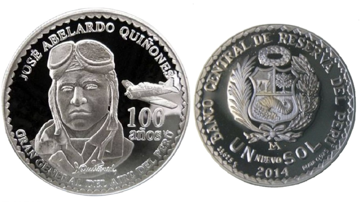 moneda jose quiñones