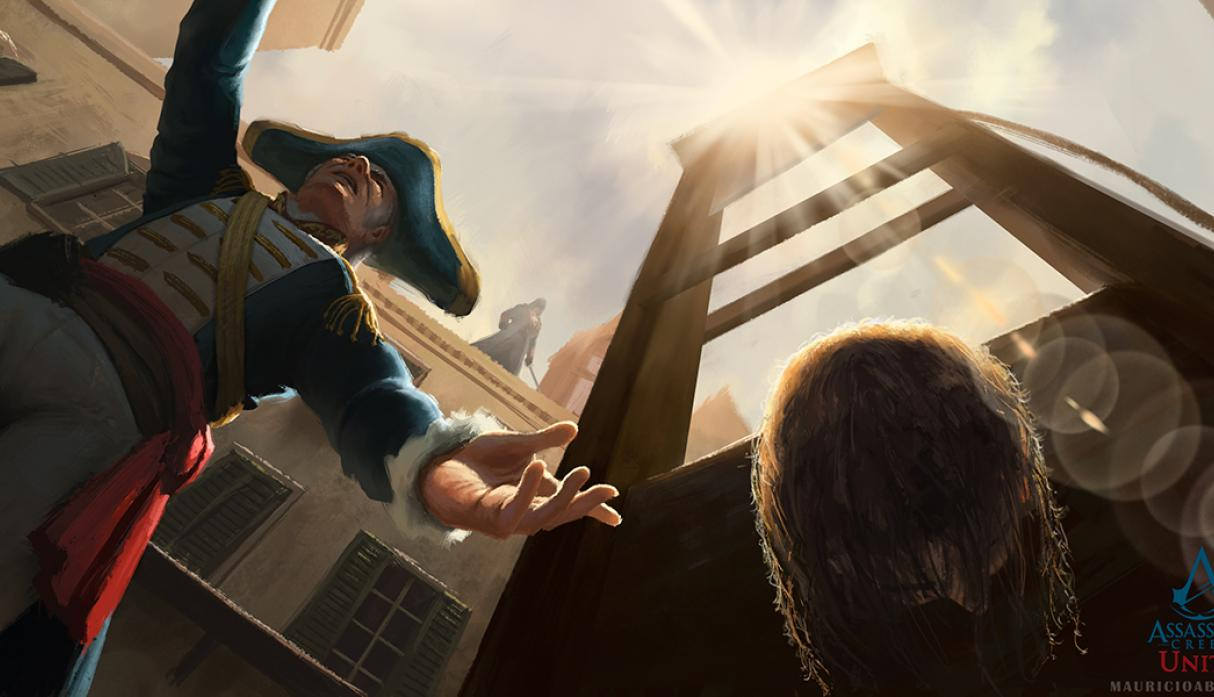 Assassin's Creed Unity Guillotine