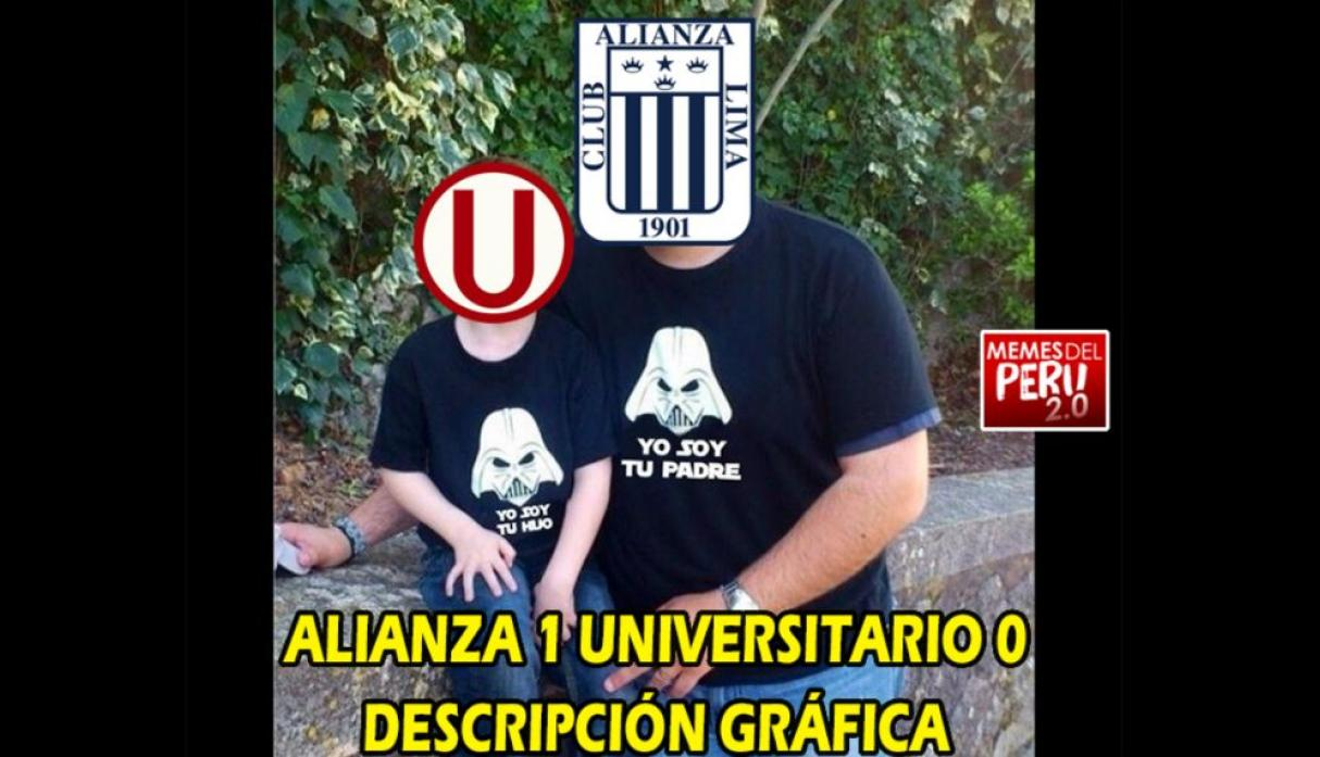 Alianza Lima vs. Universitario: los memes en Facebook