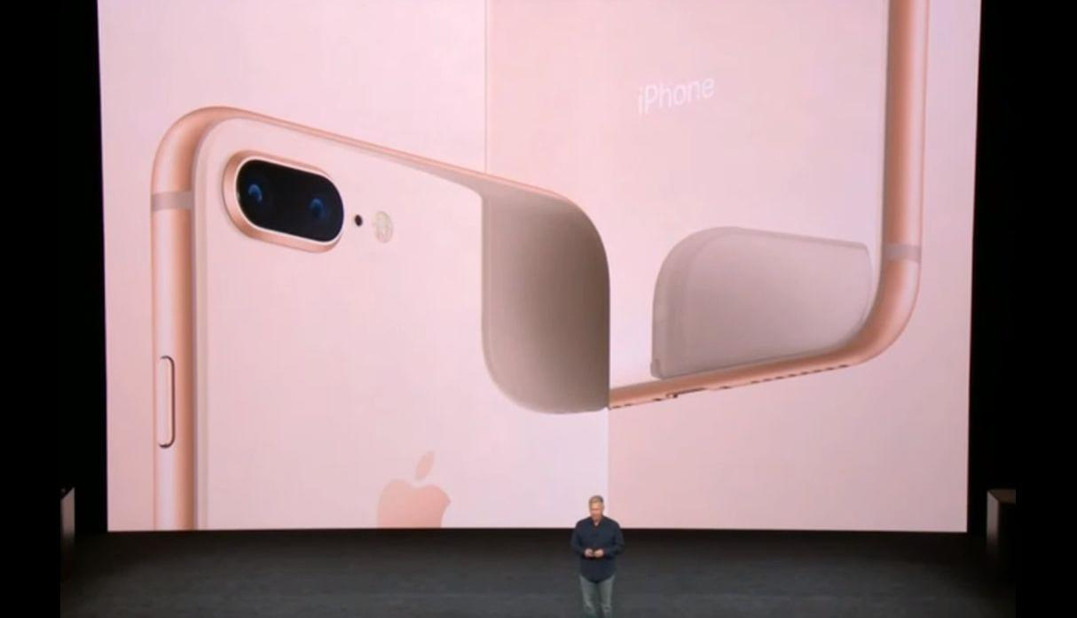 Evento iPhone 8 y iPhone 8 Plus. (Foto: Apple)