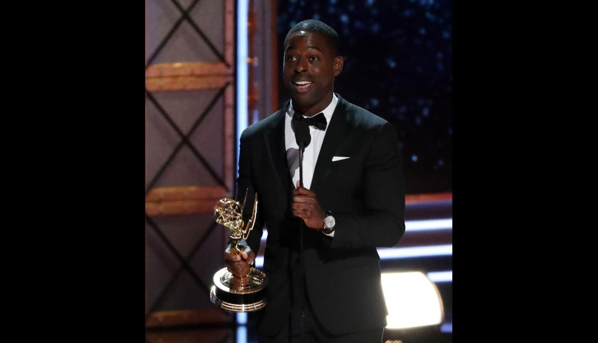 Emmy 2017 - sterling K Brown