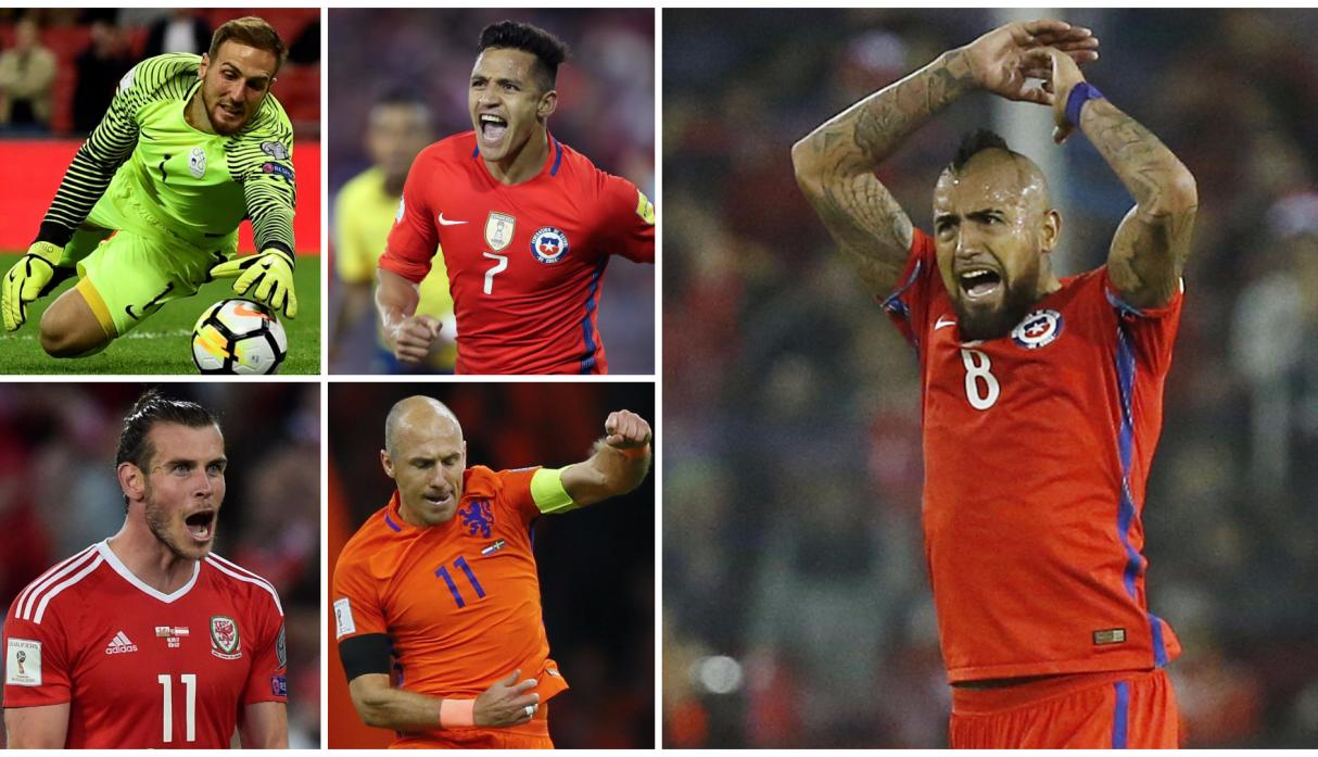 Eliminatorias: el once ideal de los que no irán a Rusia 2018