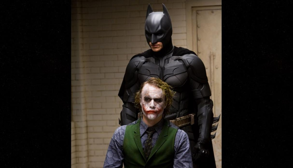 "Christian Bale revela secreto de Heath Ledger durante el rodaje de ""Batman"""