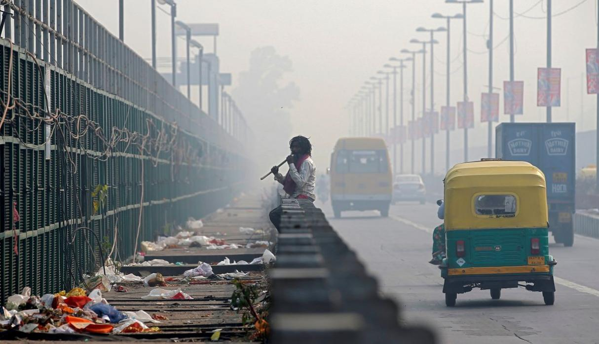 India contaminación Reuters
