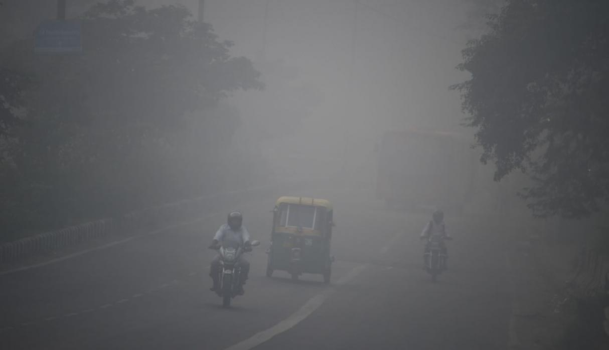 India contaminación AFP