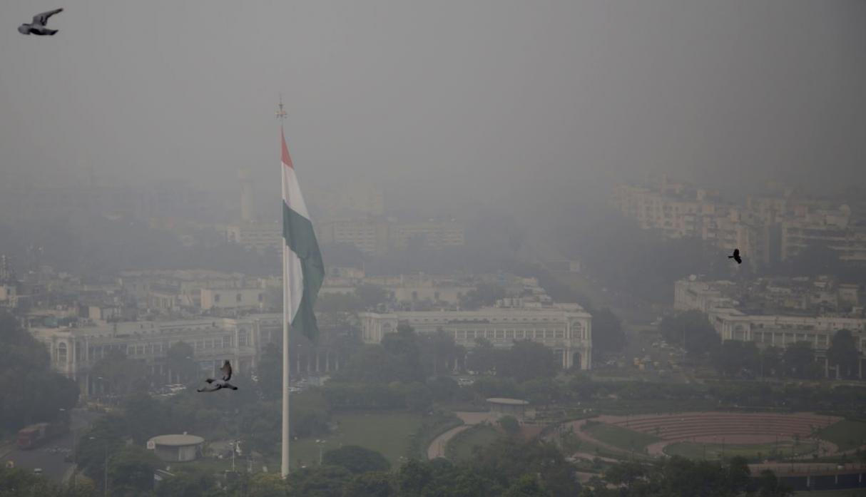 India contaminación AP