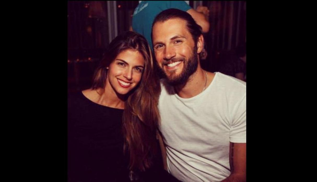 Stephanie Cayo y Chad Campbell