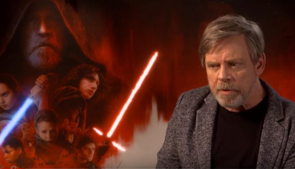 "Mark Hamill, decepcionado con ""The Last Jedi"""
