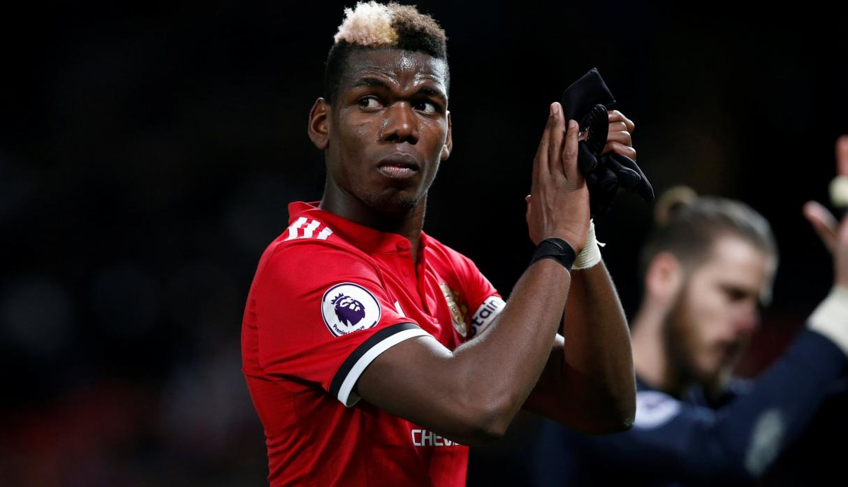 Paul Pogba - Manchester United - 290 mil euros semanales. (Foto: AFP)